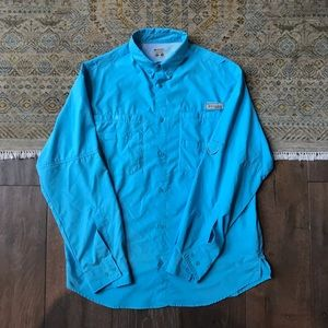 Columbia PFG Button Down Shirt